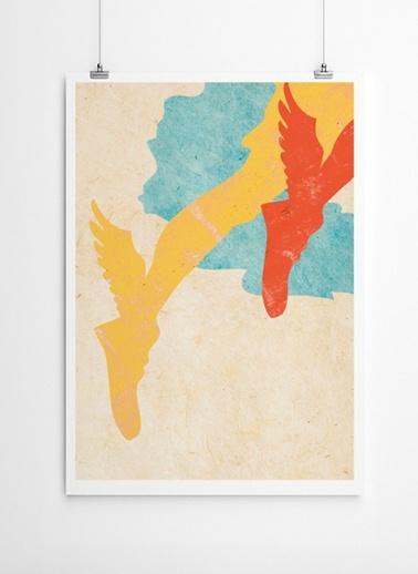 Hermes Poster-Fabl